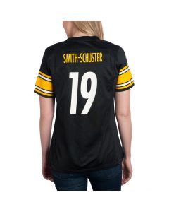 JuJu Smith-Schuster #19 Women's Nike Replica Home Jersey