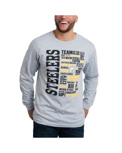 Pittsburgh Steelers Long Sleeve Dynasty T-Shirt