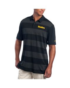 Pittsburgh Steelers Nike Early Season Black Polo