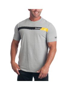 Pittsburgh Steelers Under Armour NFL Combine Wordmark Band Short Sleeve T-Shirt
