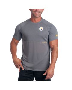 Pittsburgh Steelers Under Armour NFL Combine Novelty Jacquard Short Sleeve T-Shirt