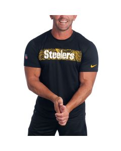 Pittsburgh Steelers Nike Legend On-field Seismic Short Sleeve T-Shirt
