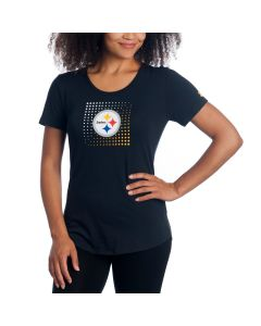 Pittsburgh Steelers Women's Under Armour NFL Combine Dot T-Shirt