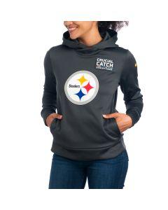 Pittsburgh Steelers Nike Women's Crucial Catch Hoodie