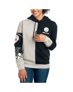Pittsburgh Steelers Women's Split Decision Hoodie