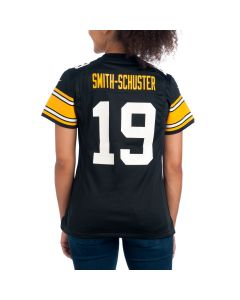JuJu Smith-Schuster #19 Women's Nike Replica Throwback  Jersey