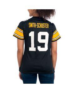 JuJu Smith-Schuster #19 Women's Nike Replica Throwback  Jersey