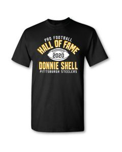Pittsburgh Steelers Hall of Fame Donnie Shell Short Sleeve T-Shirt