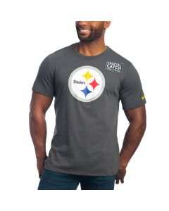 Pittsburgh Steelers Nike Crucial Catch Short Sleeve T-Shirt