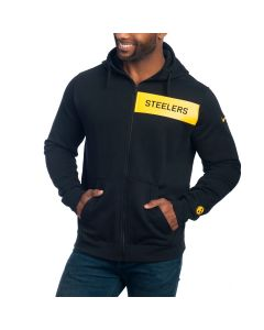 Pittsburgh Steelers Nike Club Full Zip Hoodie