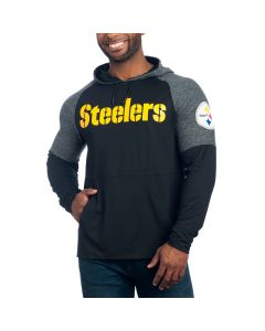 Pittsburgh Steelers Made to Move Hooded T-Shirt