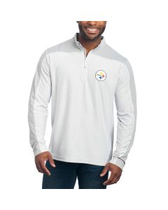 Pittsburgh Steelers Antigua Long Sleeve 1/4 Zip Top