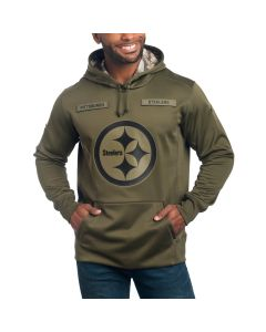 Pittsburgh Steelers Nike Salute to Service Therma Hoodie
