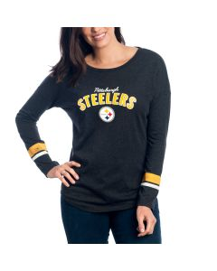 Pittsburgh Steelers Women's Sideline Long Sleeve T-Shirt
