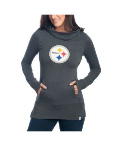 Pittsburgh Steelers Women's Flex Cocoon Long Sleeve Tee