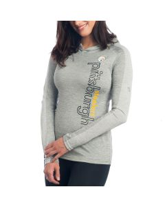 Pittsburgh Steelers Women's Fan Flow Hoodie