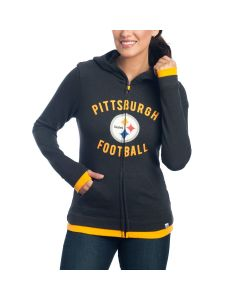 Pittsburgh Steelers Women's Hyper Fandom French Terry Hoodie