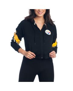 Pittsburgh Steelers Icer Women's Runway Full Zip Hoodie
