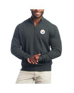 Pittsburgh Steelers Lakemont Half Zip Sweater