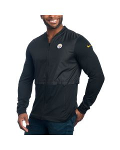 Pittsburgh Steelers Nike Full-Zip Elite Hybrid Jacket