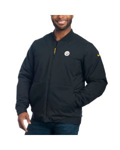 Pittsburgh Steelers Nike Shield Champ Drive Bomber Jacket