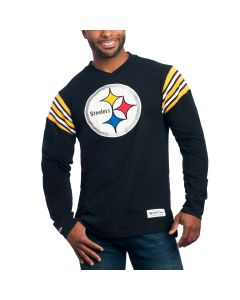 Pittsburgh Steelers Team Captain Long Sleeve V-Neck