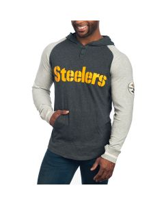 Pittsburgh Steelers Slugfest Lightweight Hooded T-Shirt