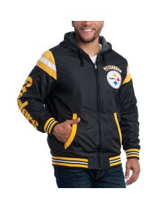 Pittsburgh Steelers Hardball Reversible Hoodie