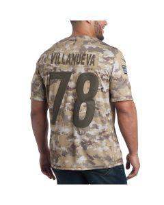 Alejandro Villanueva #78 Nike Men's Limited Salute to Service Jersey