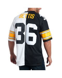 Jerome Bettis #36 Mitchell & Ness Men's Replica Limited Split Jersey