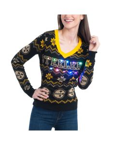 Pittsburgh Steelers Forever Collectibles Women's Bluetooth Sweater