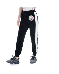 Pittsburgh Steelers Women's Touch Long Stride Velour Jogger