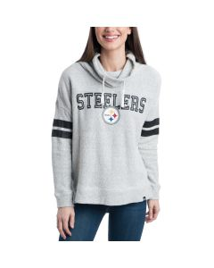 Pittsburgh Steelers Women's Offsides Funnel Neck Fleece