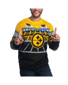 Pittsburgh Steelers Forever Collectibles Bluetooth Ugly Sweater