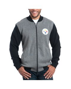 Pittsburgh Steelers Mid-Field Full Zip Bomber Jacket