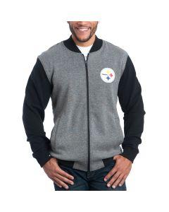 Pittsburgh Steelers Mid-Field Full Zip Bomber Jacket