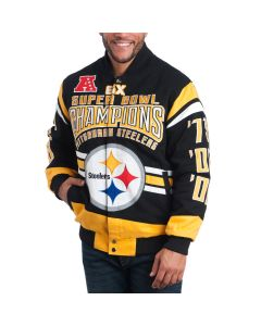 Pittsburgh Steelers Gladiator Jacket