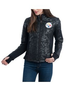 Pittsburgh Steelers Women's Touch by Alyssa Milano Huddle Jacket