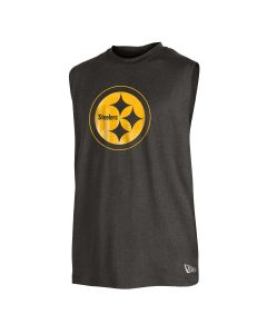 Pittsburgh Steelers Men's New Era Active Color Rush Muscle Sleeveless T-Shirt