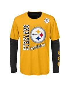 Pittsburgh Steelers Little Boy's 3 in 1 Combo Tee