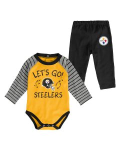 Pittsburgh Steelers Newborn Boys' Touchdown Set