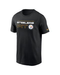 Pittsburgh Steelers Men's Nike Cotton Broadcast Short Sleeve T-Shirt