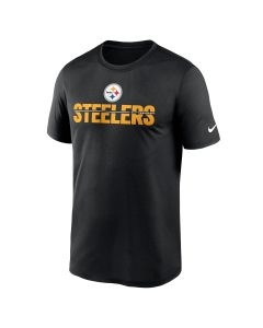 Pittsburgh Steelers Men's Nike Team Name Microtype Legend Short Sleeve T-Shirt