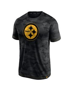 Pittsburgh Steelers Men's Throwing Shade Color Rush Camo Short Sleeve T-Shirt