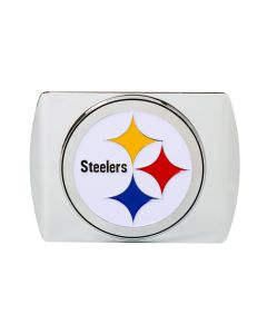 Pittsburgh Steelers Metal Chrome Logo Hitchcover