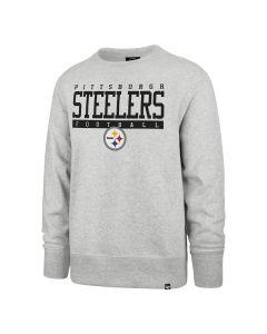 Pittsburgh Steelers Men's '47 Sideline Block Fleece Crew