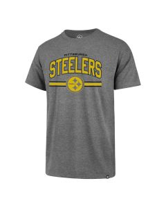 Pittsburgh Steelers Men's '47 Super Arch Color Rush Super Rival Sleeve T-Shirt