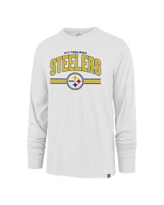 Pittsburgh Steelers Men's '47 Super Arch Super Rival Long Sleeve T-Shirt