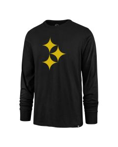 Pittsburgh Steelers Men's '47 Color Rush Hypo SuperRival Long Sleeve T-Shirt