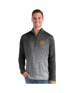 Pittsburgh Steelers Men's Antigua Cycle Ombre Color Rush 1/2 Zip